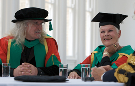 Billy Connolly and Judi Dench