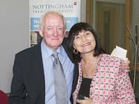 Professor Bob Rees and Gussy Marlowe