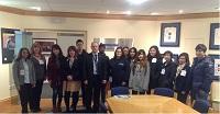 NBS students at Panasonic