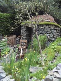 The Gold Award-winning Hebridean weaver's garden