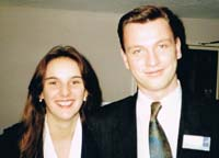 Sue and Stephen in 1992