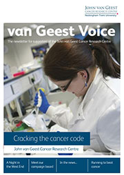 van Geest Voice issue 1 cover
