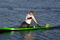 Flatwater sprint canoeist Chris Calvert